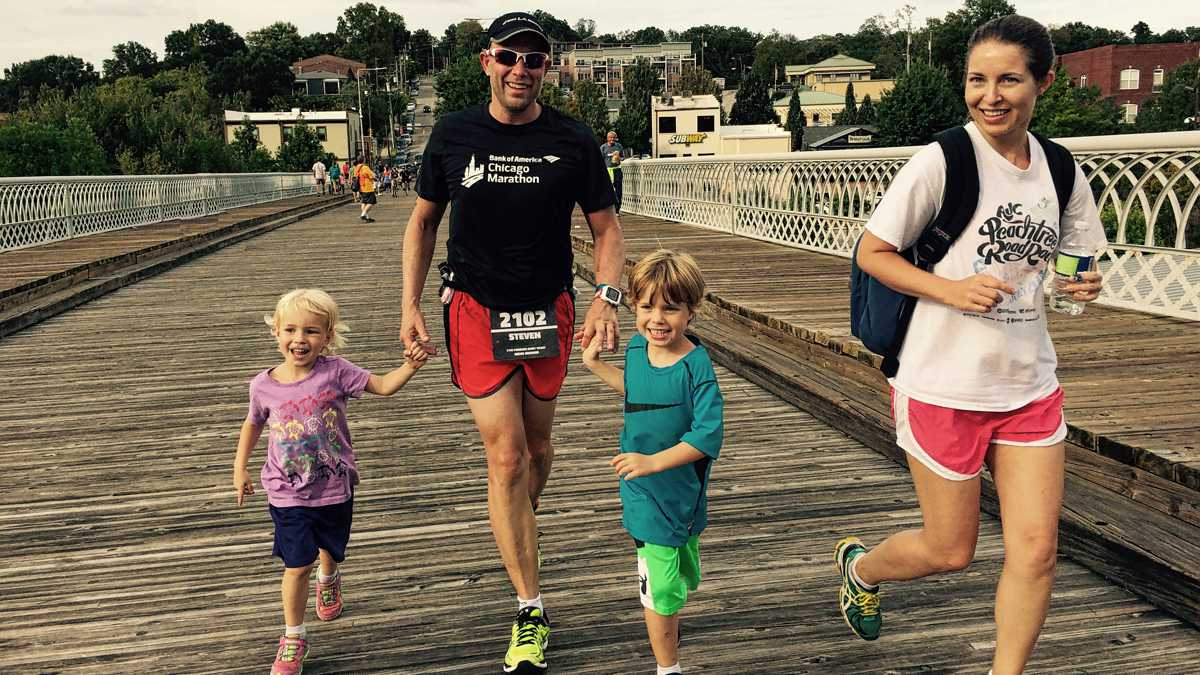 Chattanooga Ironman Johnson Family