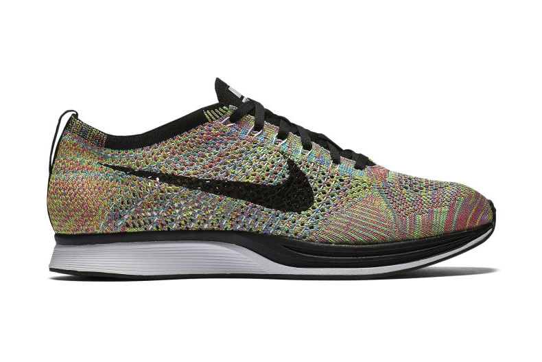 nike flyknit original multicolor