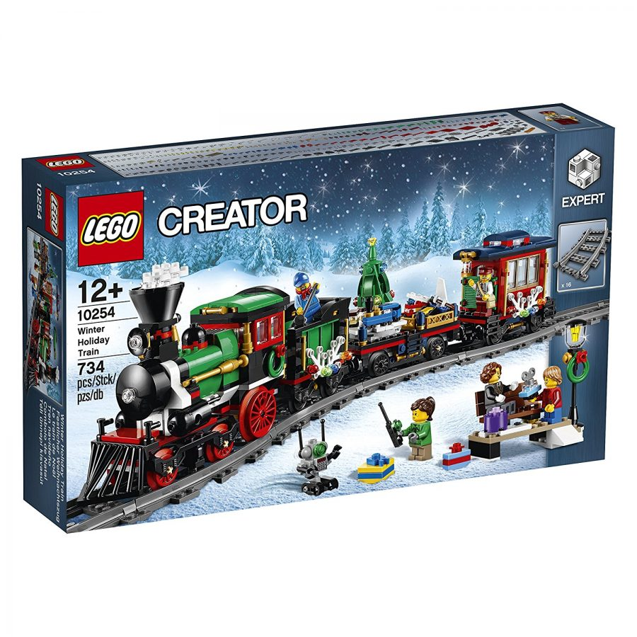 LEGO Winter Village Train 10254 at Amazon.com