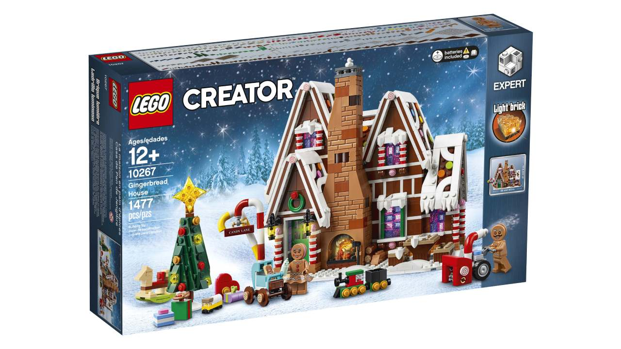 LEGO Gingerbread House Box 10267