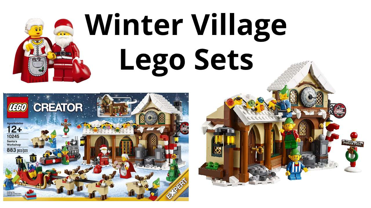 LEGO Winter Village Holiday Sets