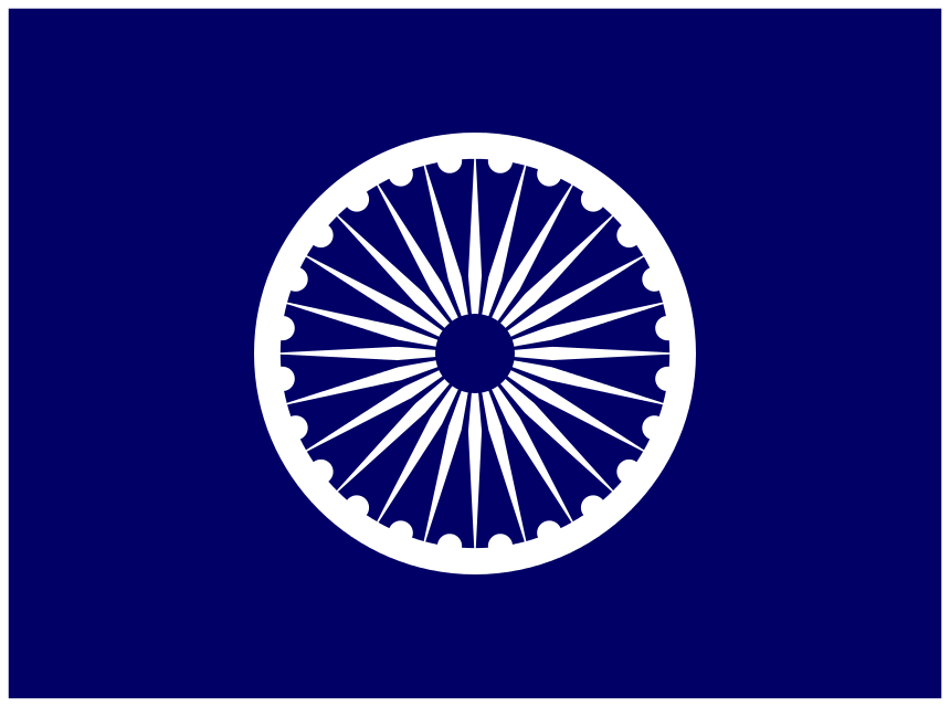 Flag of various republican Parties of India