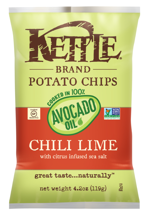 Chili Lime Kettle Brand Potato Chips
