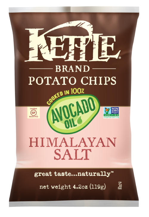 Himalayan Salt Kettle Brand Potato Chips