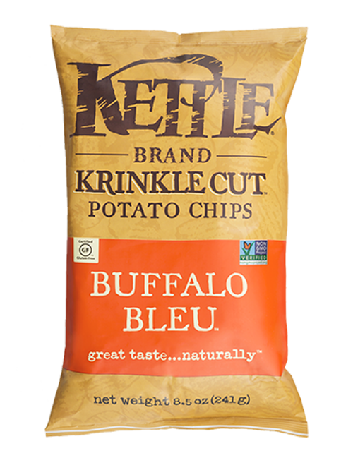 Buffalo Bleu Krinkle Cut Kettle Brand Potato Chips
