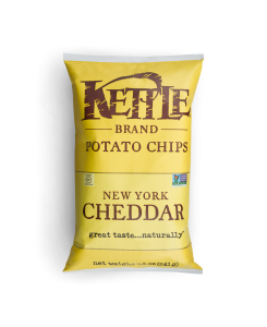 New York Cheddar Kettle Brand Chips