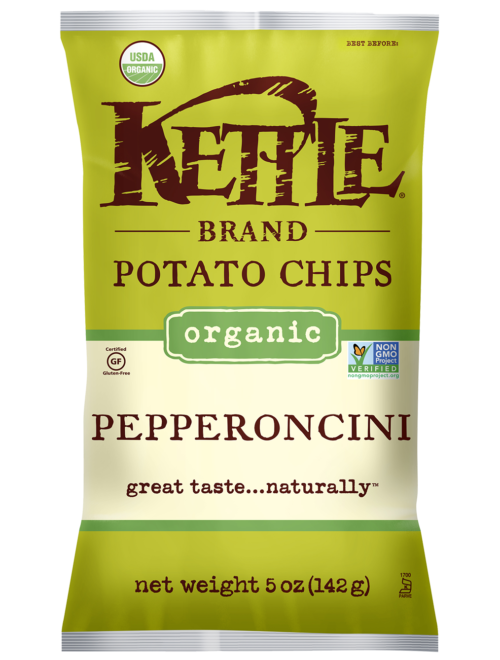 Organic Pepperoncini Kettle Brand Potato Chips