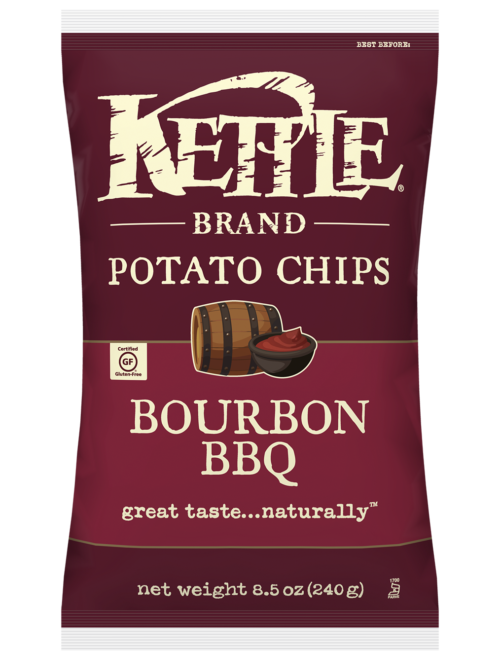 Bourbon Barbeque Kettle Brand Potato Chips