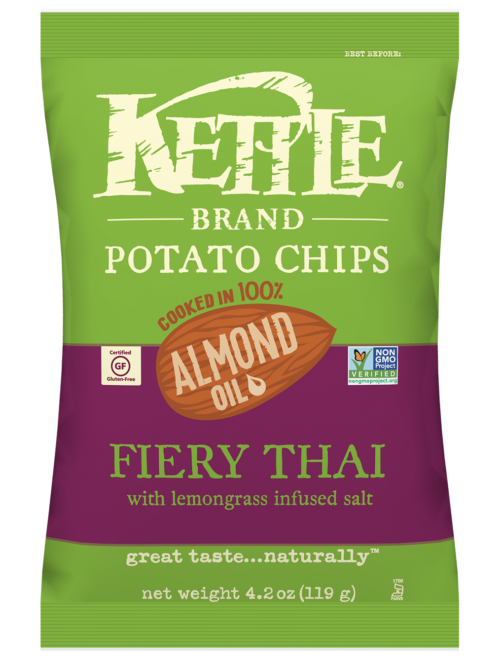 Fiery Thai Kettle Brand Potato Chips