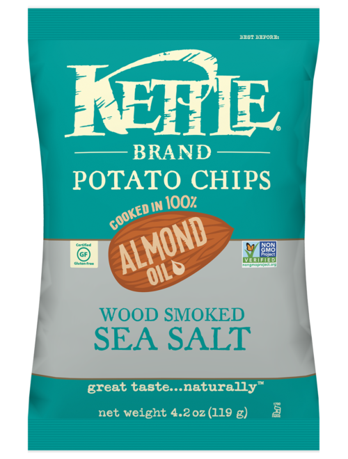 Wood Smoked Sea Salt Kettle Brand Potato Chips