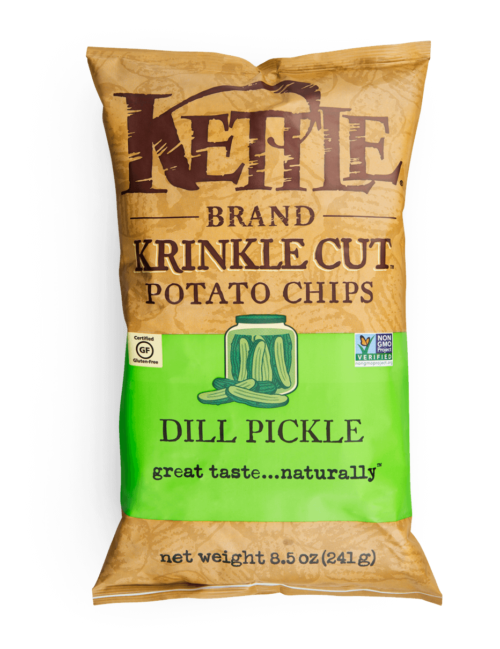 Krinkle Cut Dill PickleKettle Brand Chips