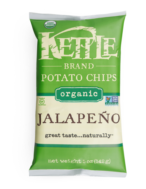 Organic Jalapeno Kettle Brand Potato Chips