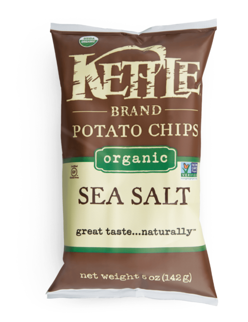 Organic Sea Salt Kettle Brand Potato Chips