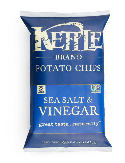 Sea Salt and Vinegar Kettle Brand Potato Chips
