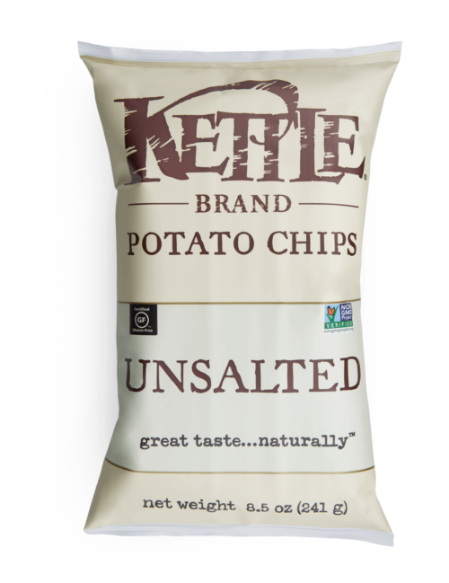 Unsalted Kettle Brand Potato Chips