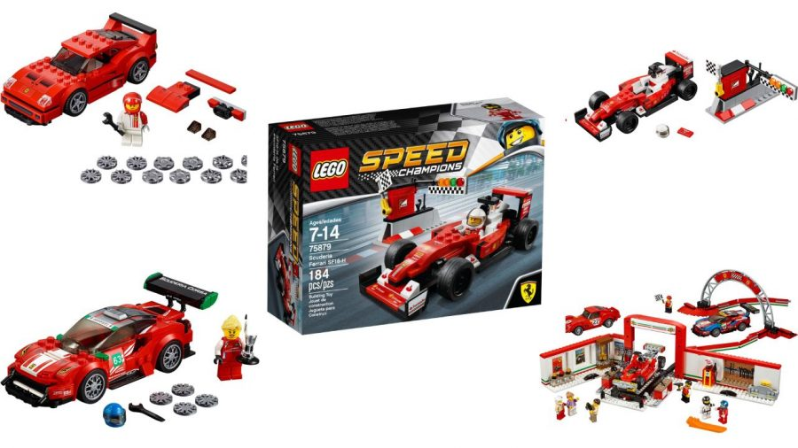 All Ferrari Lego Sets