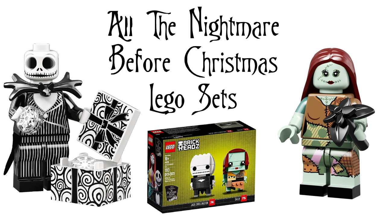 All The Nightmare Before Christmas LEGO Sets