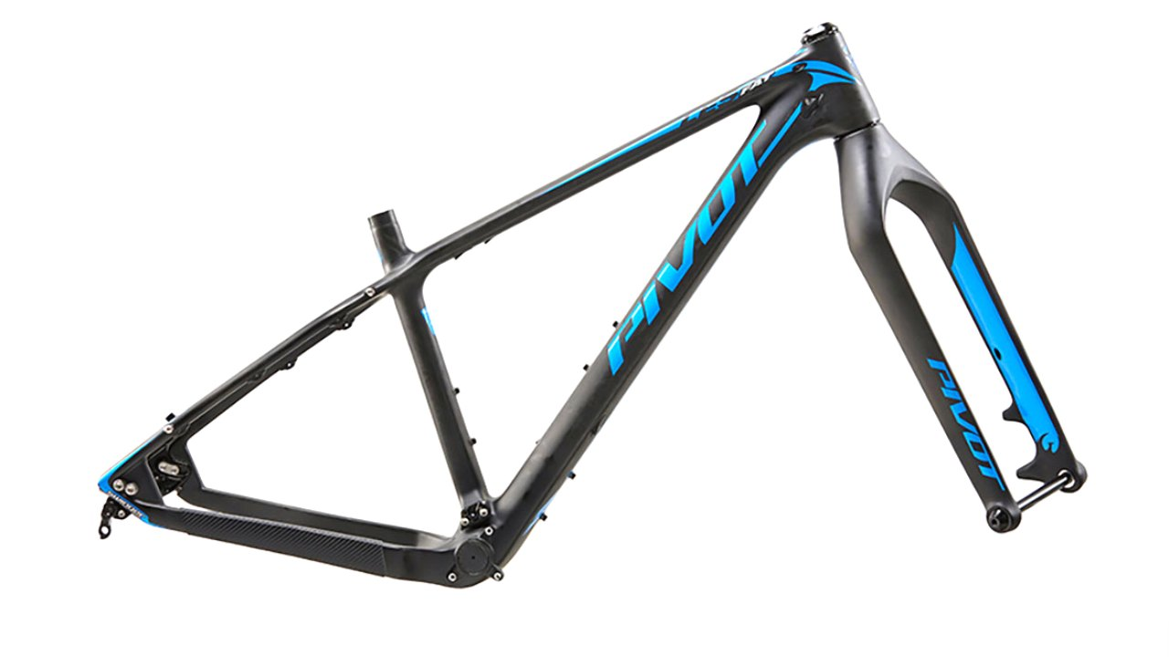 Pivot Les Fat Blue Frame Set