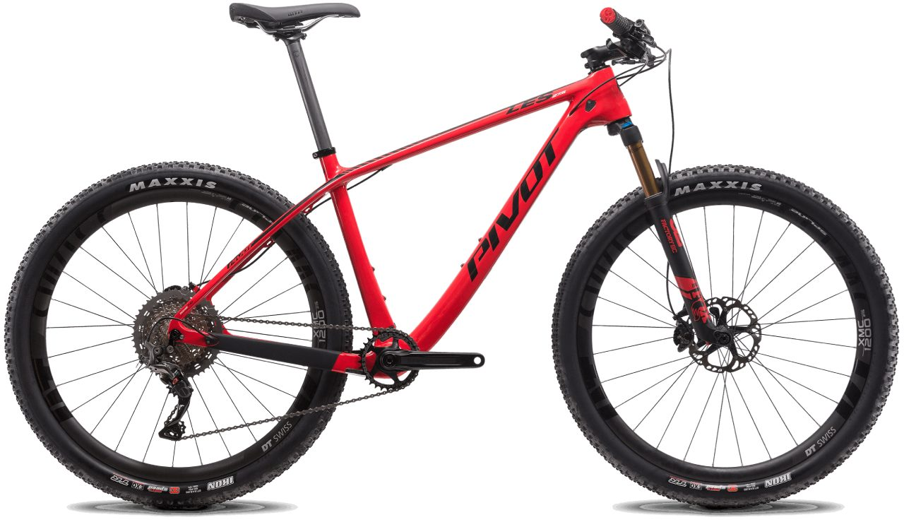 Pivot Les 27.5 v2 Red with Black Accents