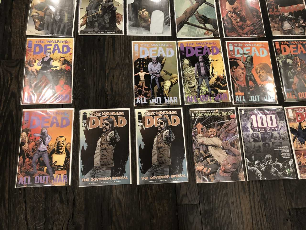 Walking Dead Comic Books for Sale - Lower Left