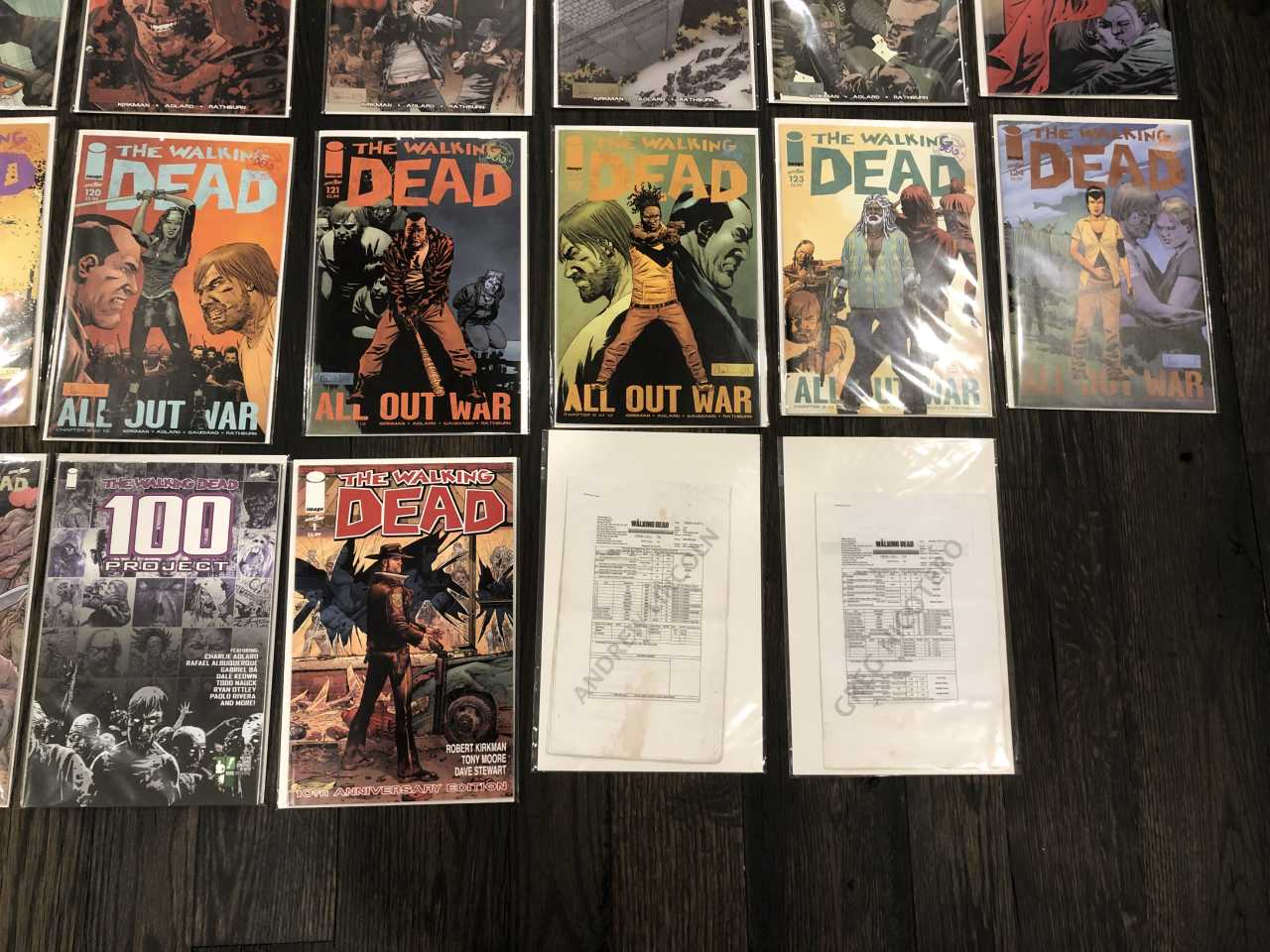 Walking Dead Comic Books for Sale - Lower Right