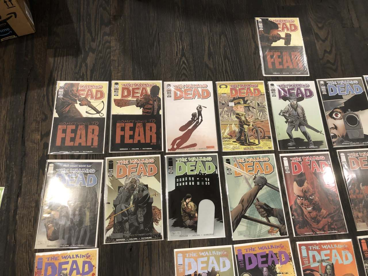 Walking Dead Comic Books for Sale - Upper Left
