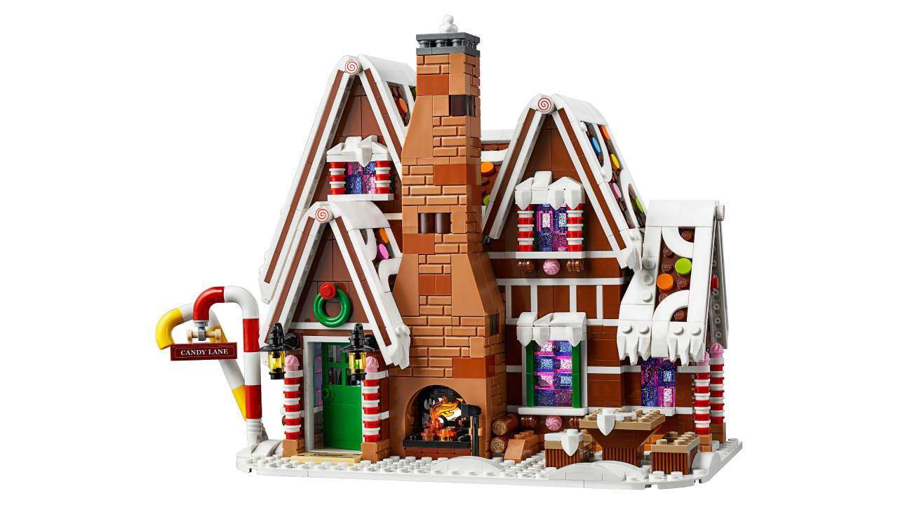 Gingerbread House 10267 at Lego.com