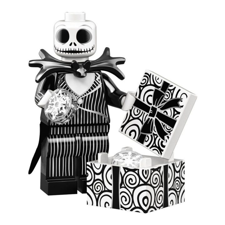 Jack Skellington Lego Collectible Minifigure at Amazon