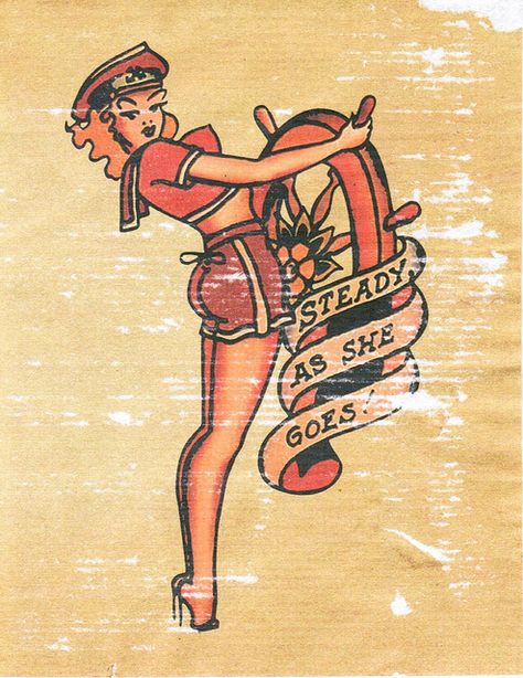 Sailor Jerry Sailor Girl Pin-up